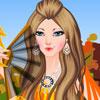 Autumn Princess Dressup -